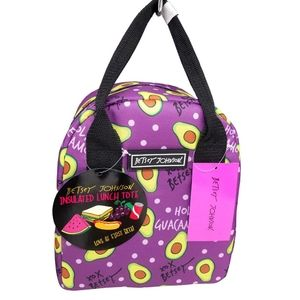 Betsey Johnson Holy Guacamole Lunch Bag